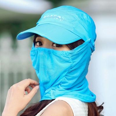 Seoul Show 男女可摺疊防水遮陽棒球帽  天藍色