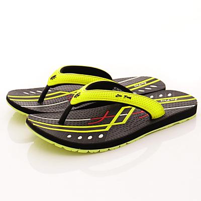San Fang-GP同級鞋款-夾腳涼拖系列-5251M60綠(男)