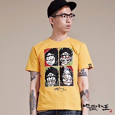 地藏小王 BLUE WAY  T恤 生、旦、淨、末、丑戲劇演員