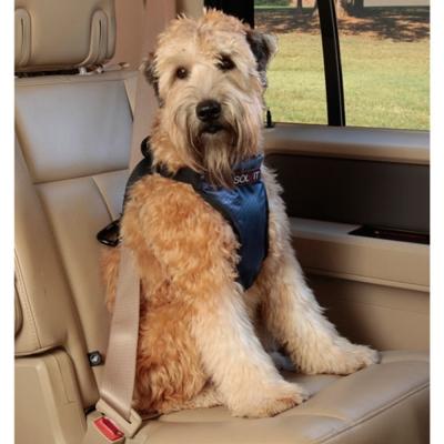 美國SOLVIT寵物介護 升級款豪華寵物車載安全帶M號