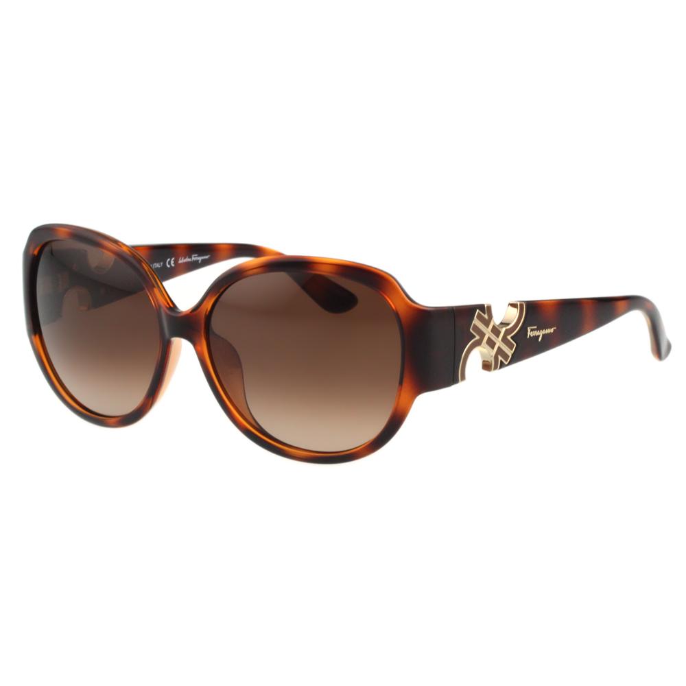 Salvatore Ferragamo- 時尚 太陽眼鏡(豹紋色) @ Y!購物