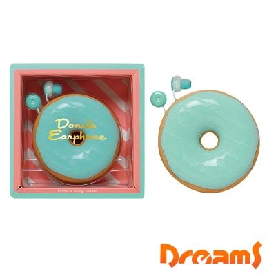Dreams Donuts Earphone 薄荷甜甜圈耳機禮物組