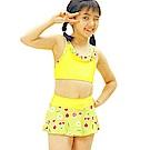 聖手牌 泳裝 清新可愛兩件式女童泳裝