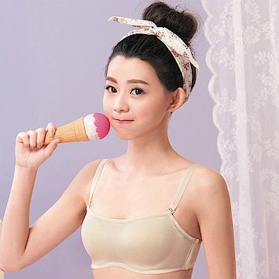 嬪婷- 易搭時尚 B-C罩杯平口胸罩內衣(香草黃)穿搭必備商品