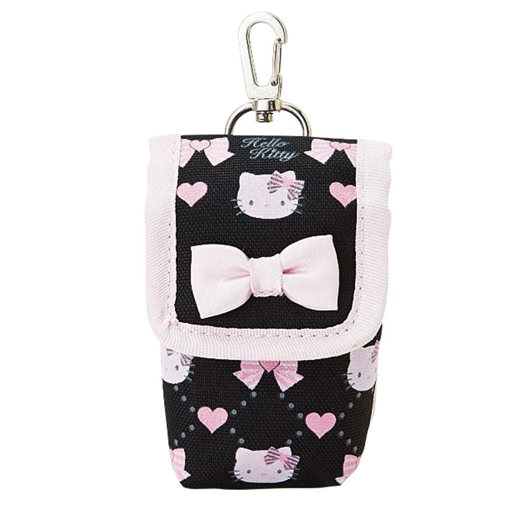Sanrio HELLO KITTY手機收納袋緞帶