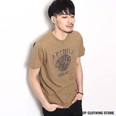LOGO印花短袖T恤(20色) ZIP日本男裝