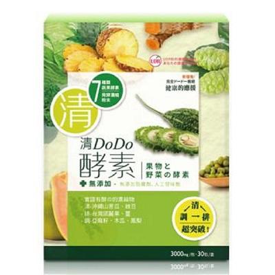 UDR 清DoDo酵素 4件組(30包/盒 x 4盒)
