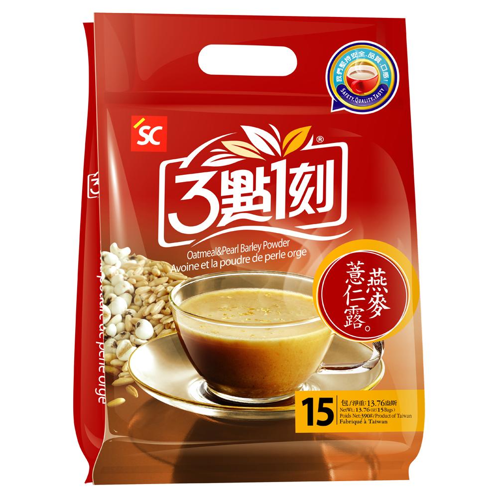 3點1刻 燕麥薏仁露(26gx15包)