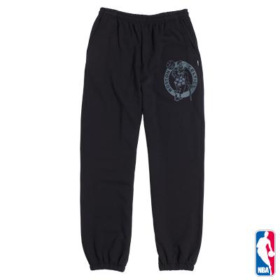 NBA-波士頓塞爾提克隊縮口厚棉長褲-黑(男)