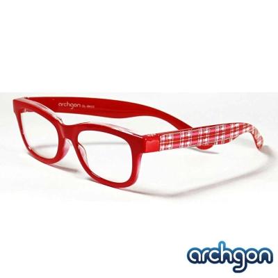 archgon亞齊慷 俏皮可愛風 濾藍光眼鏡[兒童款]GL-BK02-R