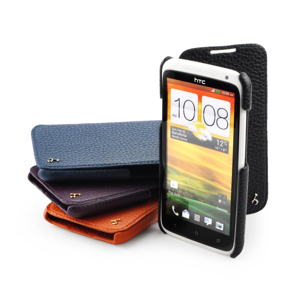 皮套王精品手工 HTC One X 硬殼式PDA式+側翻 四色可選