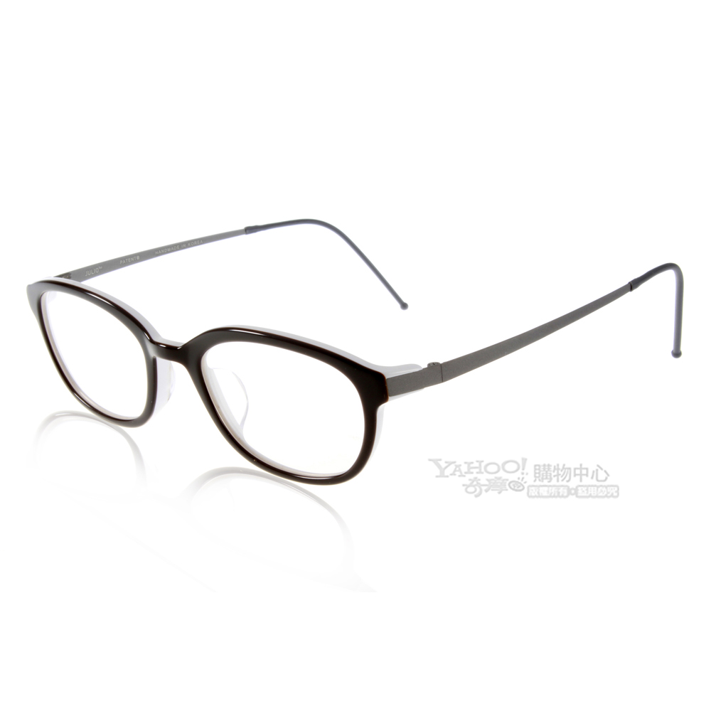 JULIO眼鏡 完美工藝/棕色#NEWARK BRW
