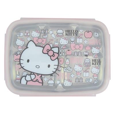 Hello Kitty不鏽鋼隔熱餐盒KS-8155