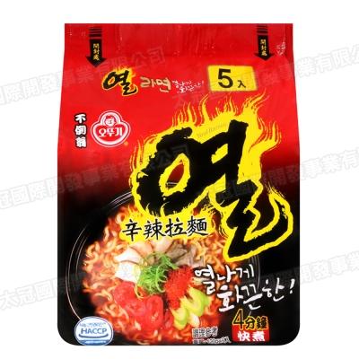 OTTOGI不倒翁 辛辣拉麵(120gx5入)