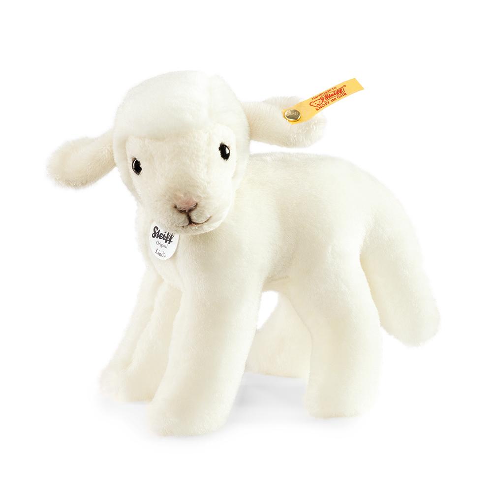 STEIFF德國金耳釦泰迪熊 - Linda Lamb 羊 (動物王國)