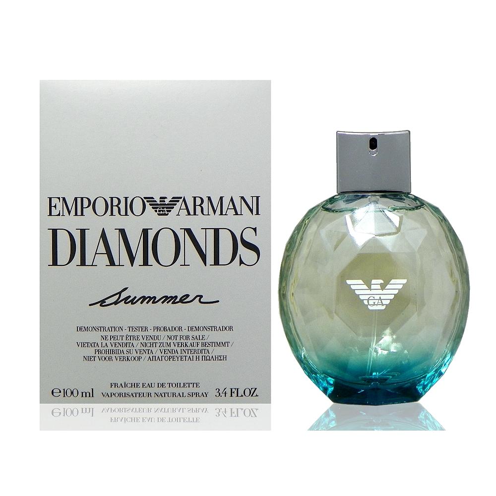 Giorgio Armani 海水藍寶石淡香水 100ml Tester 包裝