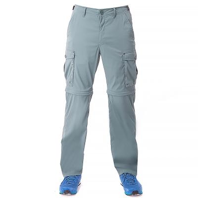 【hilltop山頂鳥】男款超潑水抗UV彈性兩截褲S08M21-綠