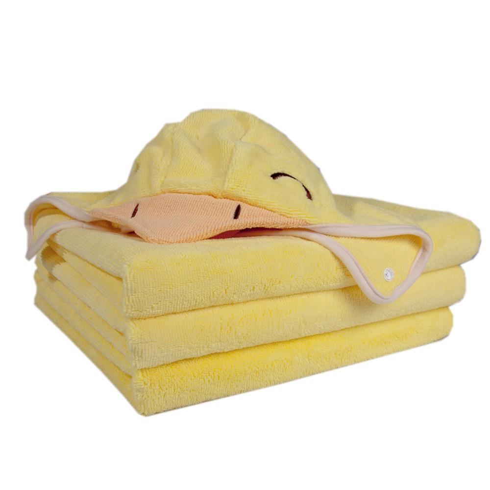 COTEX可透舒 開心可達鴨浴巾