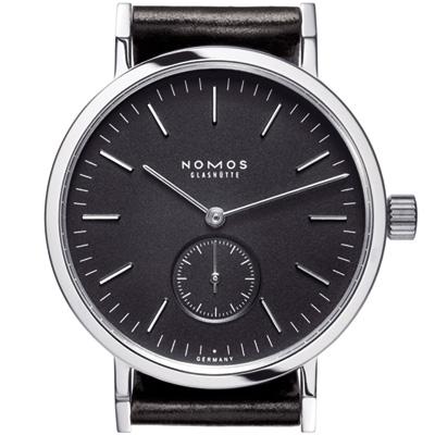 NOMOS Tangente Sport-506 手上鍊小秒針腕錶-黑