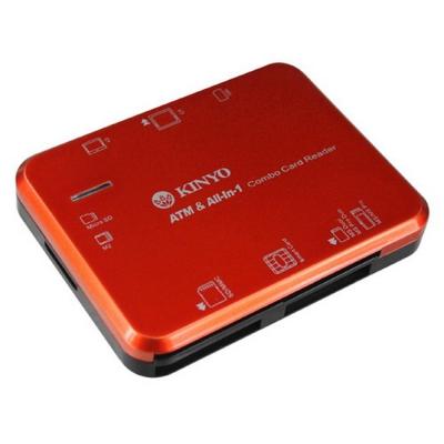 KINYO 多合一7插槽晶片讀卡機 (KCR355)