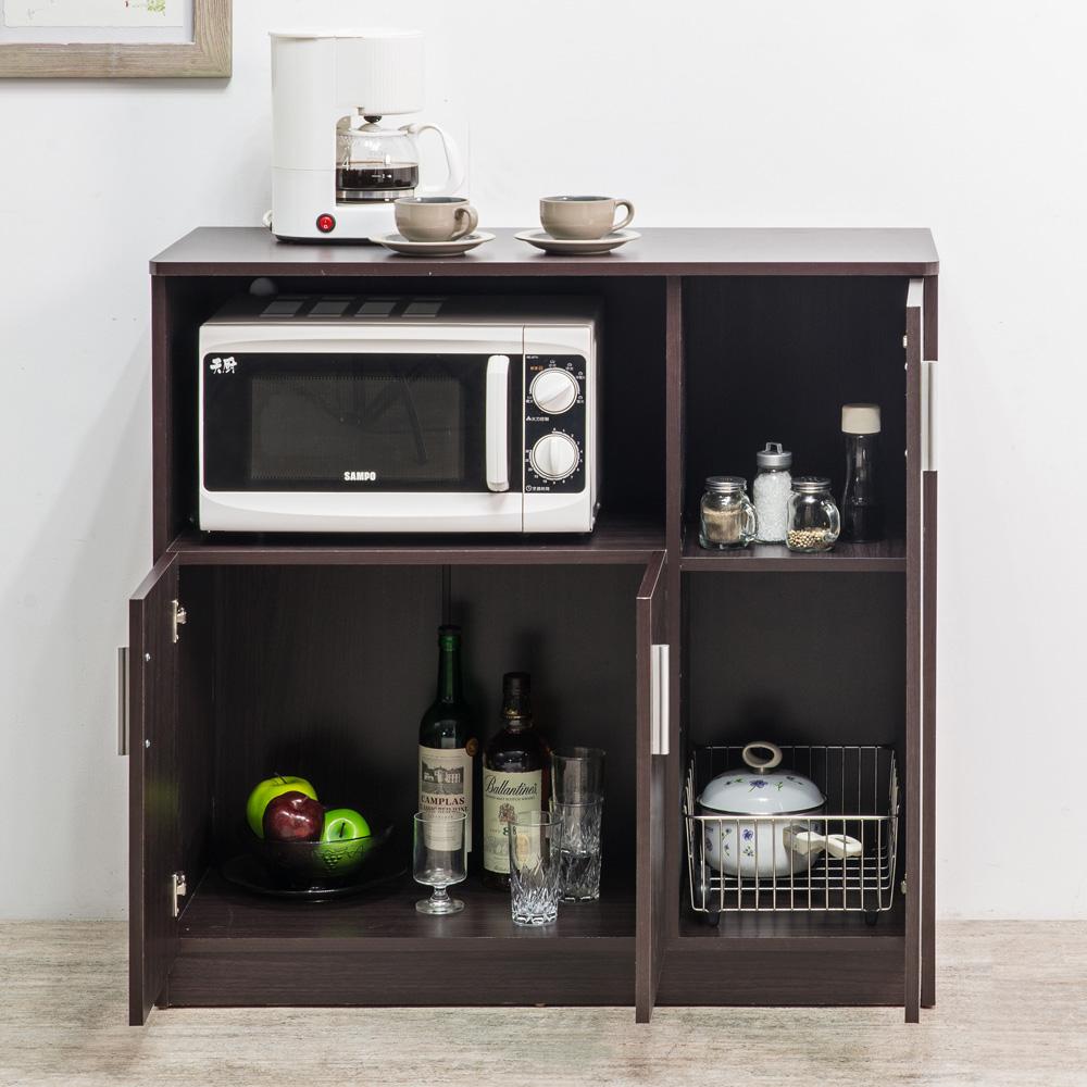 TZUMii美背多功能廚房櫃-90x40x87.4cm