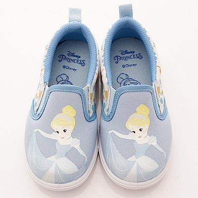 迪士尼童鞋 仙履奇緣休閒鞋款-TH 18307 藍(中小童段)