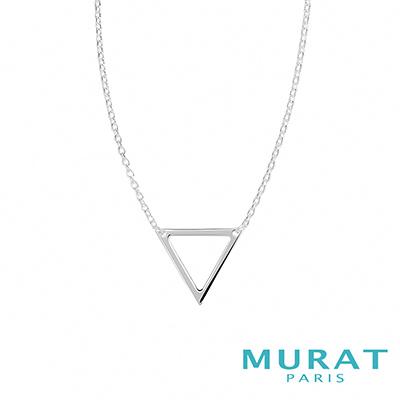 MURAT Paris米哈巴黎 極簡三角幾何項鍊
