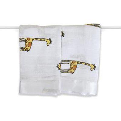 美國 aden+anais 嬰兒安撫巾 - 可愛長頸鹿AA7507