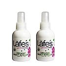 Lafe s organic 有機全家防蚊液x2