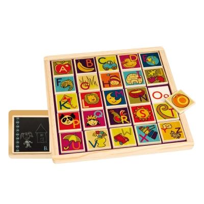 美國B.Toys 土撥鼠磁鐵板