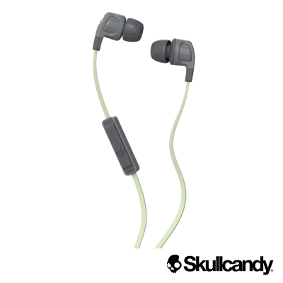 Skullcandy 骷髏糖 SB2入耳式耳機-黑+螢光色(公司貨)