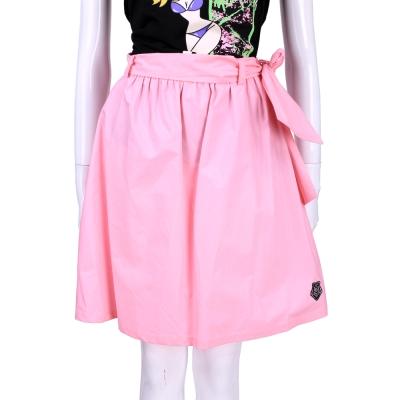 LOVE MOSCHINO 粉紅色綁帶設計及膝裙