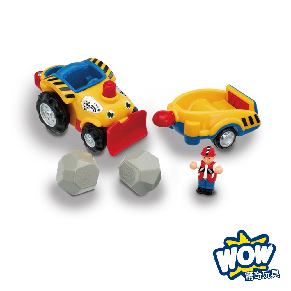【WOW Toys 驚奇玩具】砂石車 亨利 product image 1
