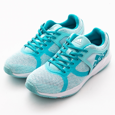 ADIDAS-女慢跑鞋BB1516-水藍