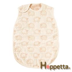 【Hoppetta】六層紗綿羊防踢被 (米白)