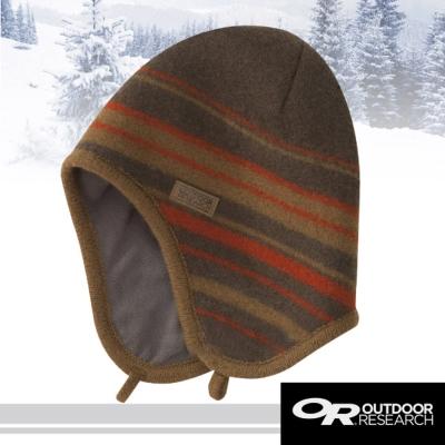 【Outdoor Research】Conway 3D立體透氣羊毛保暖護耳帽子/大地褐