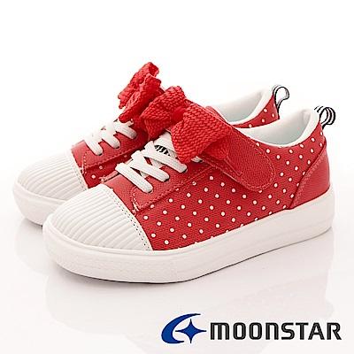 日本月星頂級童鞋 SUGAR晴雨運動鞋 4809 紅 (中大童段)