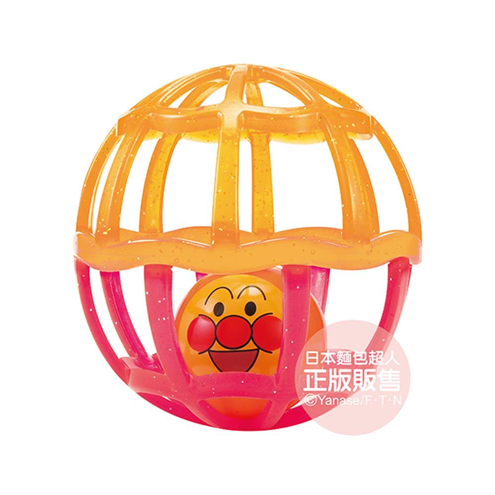 麵包超人-附吊帶嬰兒搖搖球中球(菊粉配色) (2m+)