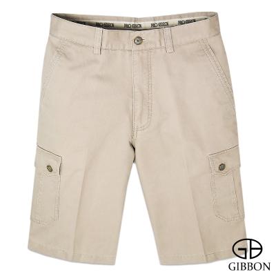 GIBBON 風采純棉口袋休閒短褲‧淺褐 29 ~ 42