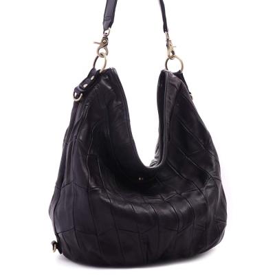 ANNA DOLLY 羊皮2WAY通勤包 Leather系列 經典黑