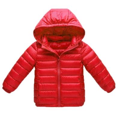 輕量極保暖 兒童 90%羽絨外套 紅 k60322