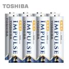 TOSHIBA IMPULSE 高容量低自放電電池(內附4號8入)