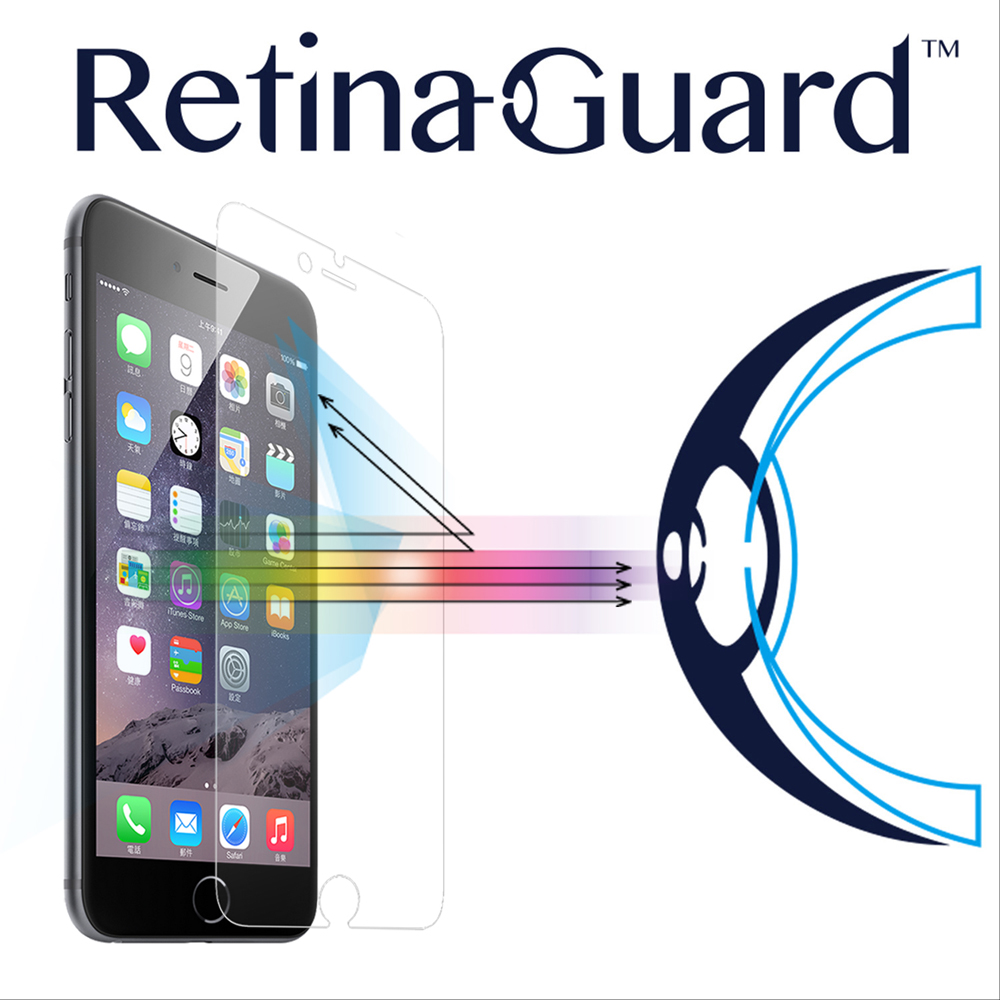 RetinaGuard 視網盾 iphone 6 plus / 6s plus防藍光玻璃保護膜