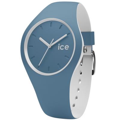 Ice-Watch 玩色系列 炫彩新時尚手錶-單寧藍x白/41mm