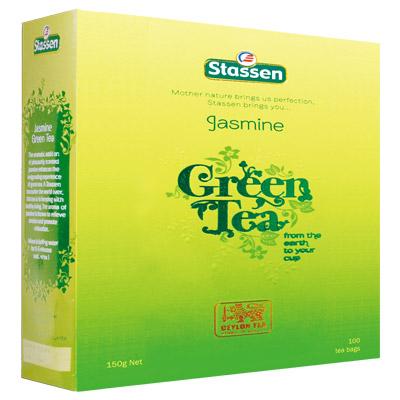 Stassen司迪生 茉莉綠茶紙盒裸包(1.5gx100入)