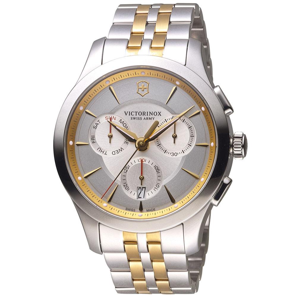 維氏 VICTORINOX ALLIANCE 腕錶系列 -雙色/44mm