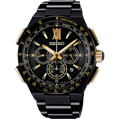 SEIKO 精工 Brightz 太陽能電波限量腕錶(SAGA212J)-43mm