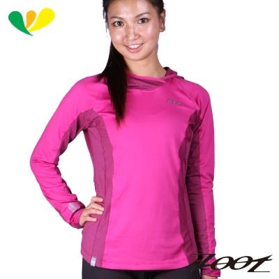 ZOOT 潮風抗寒連帽式上衣(女)(胭脂紅)Z1604065
