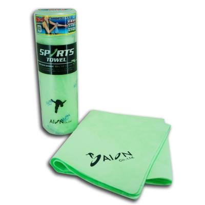AION 日本原裝 合成羚羊皮巾–運動專用(綠)