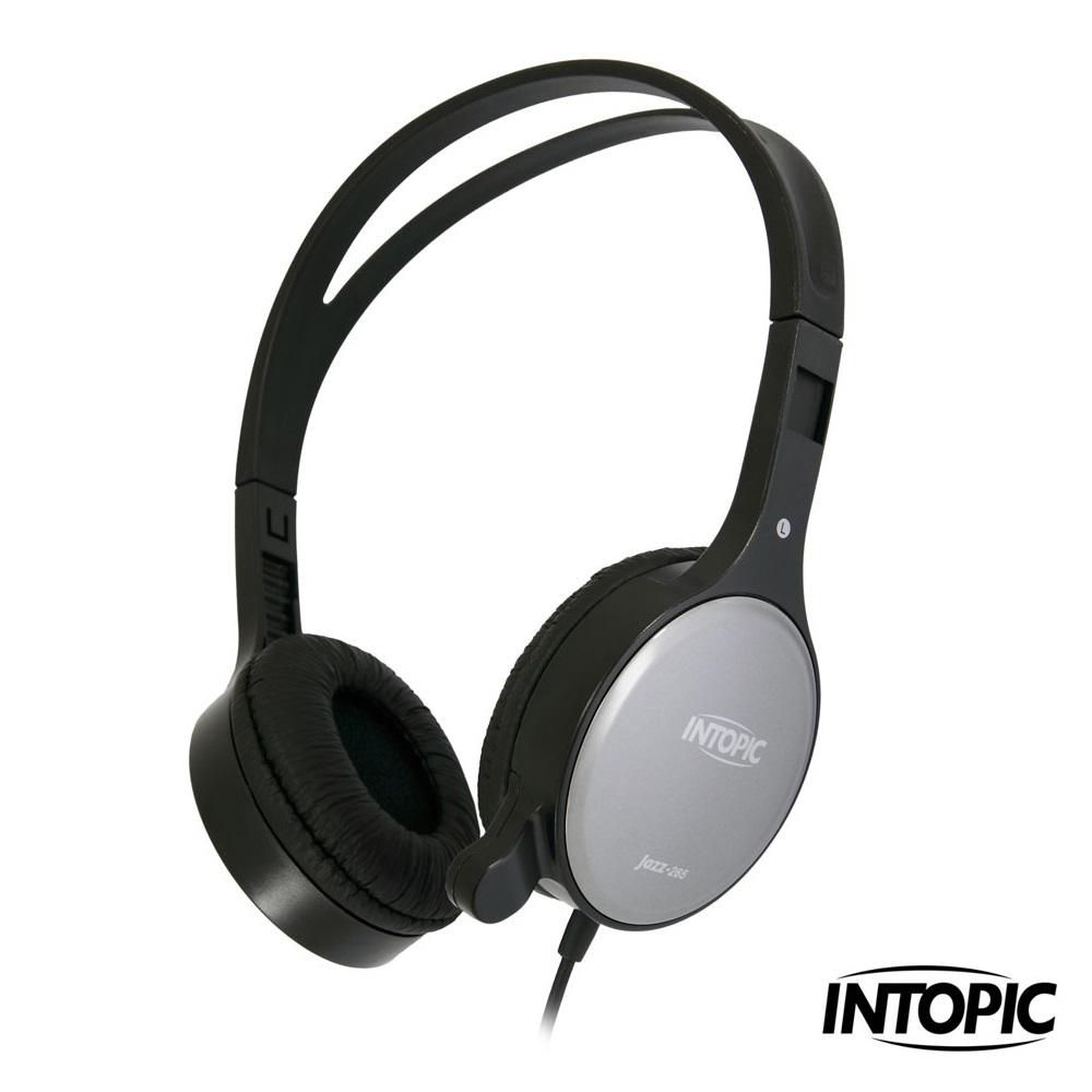 INTOPIC 廣鼎- 頭戴式耳機麥克風 JAZZ-265